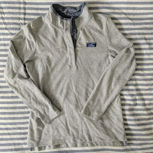 LL Bean Rugby pullover size M